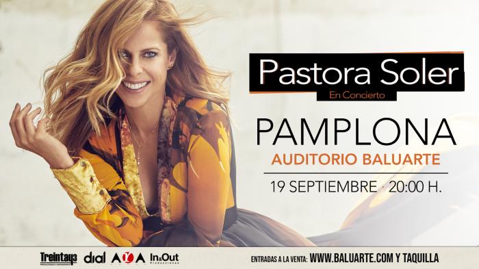 Pastora Soler - Baluarte Pamplona en Septiembre 2020