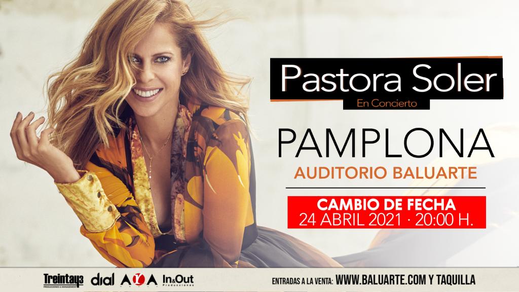 Pastora Soler en concierto en Pamplona en 2021